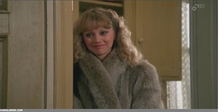 Shelley Long Night Shift shelly long in fur fur glamor